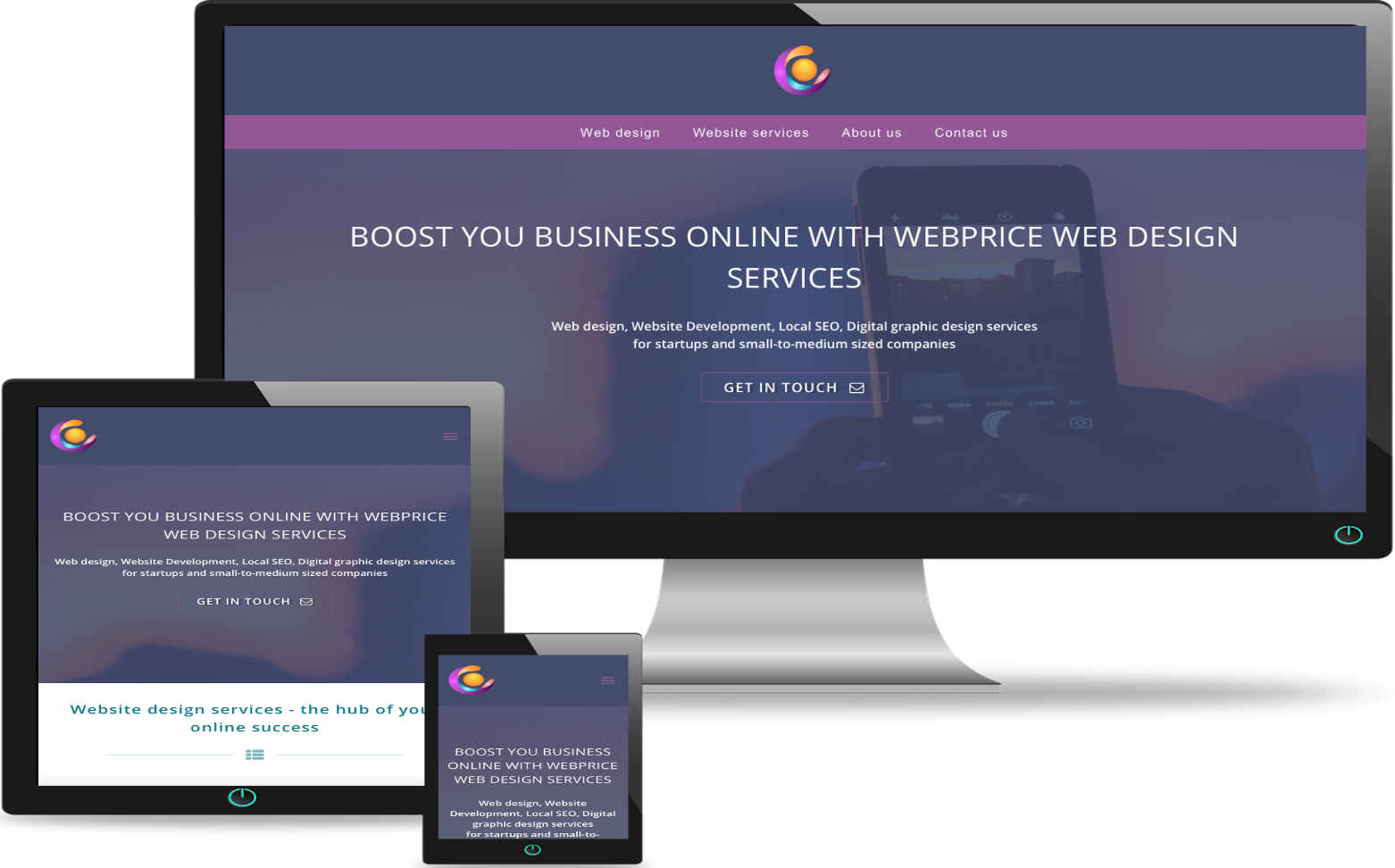 Redesign existing website services