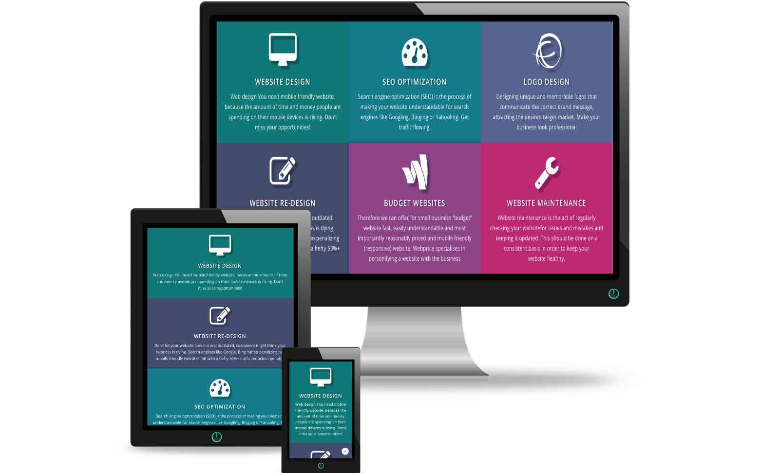 New websites design